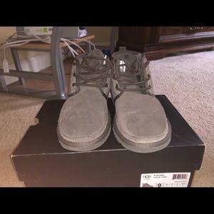 Grey Men Uggs size 9
